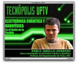 Pablo-Jarillo-Herrero en Tecnópolis
