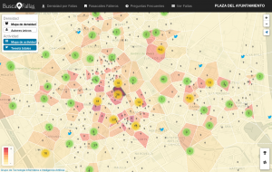 buscafallas análisis actividad twitter zona influencia fallas
