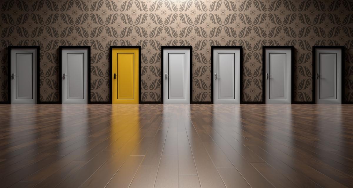 door, puerta, decisión