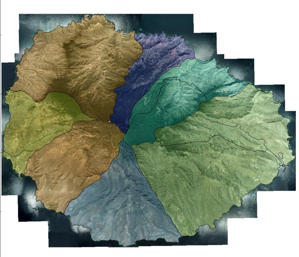 secciones censales en La Gomera